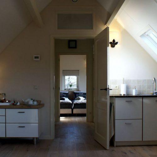 Huis het Einde Bed & Breakfast kitchenette